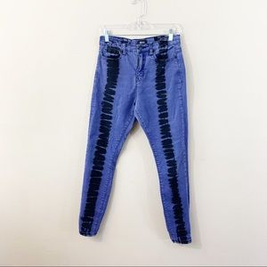 BDG Urban Outfitters Hi Rise Twig Jeans Tie Dye